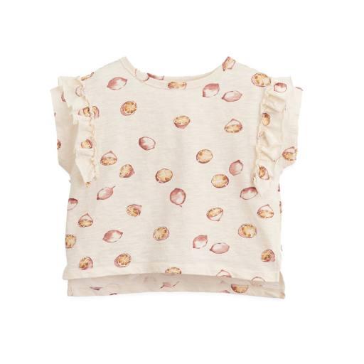 "Play Up - Shirt ""Printed Flamé Shirt"", dandelion"