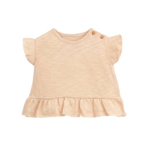 "Play Up - Babyshirt ""Flamé Jersey T-Shirt"", egg"