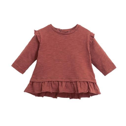"Play Up - Babyshirt ""Flamé Jersey LS T-Shirt"", farm colour"