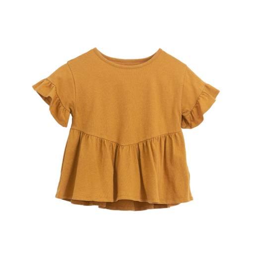 "Play Up - Shirt ""Jersey Tunic"", hazel"