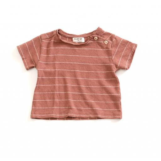 "Play up - T-Shirt ""Striped Jersey"", old tile"