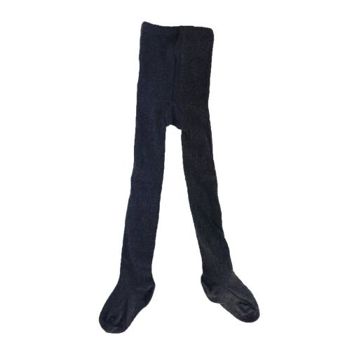 "Play Up. - Strumpfhose ""Ribbed Tights"", dark grey"