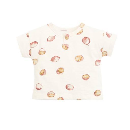 """Play Up - Babyshirt """"Printed Flamé Jersey Shirt"""", dandelion"""