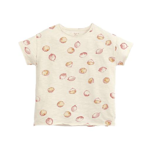 "Play Up -  T-Shirt ""Printed Flamé T-Shirt"", dandelion"