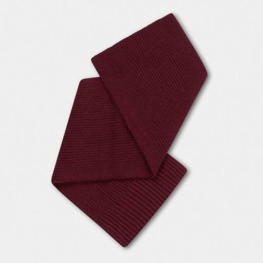 "Repose AMS -Schal ""Knitted Scarf Small"", rosewood red"