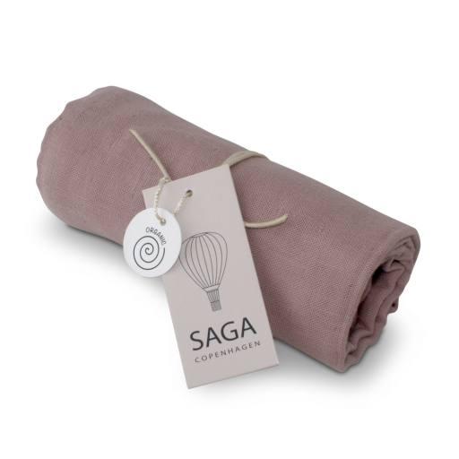 """Saga Copenhagen - Mulltuch """"Vidar Diaper Cloth"""", burlwood"""