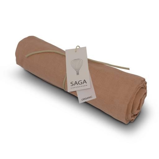 "Saga Copenhagen - Mulltuch ""Hula Swaddle"", dusty coral"