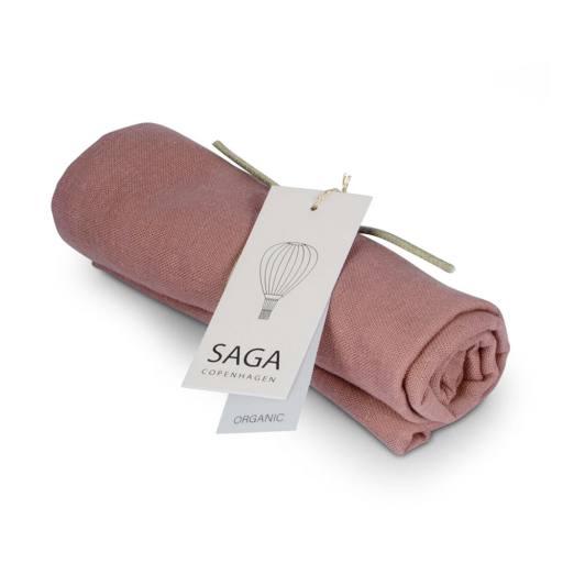 "Saga Copenhagen - Mulltuch ""Vidar Diaper Cloth"", mauve"