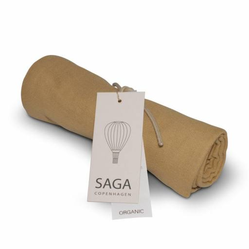 "Saga Copenhagen - Mulltuch ""Vidar Diaper Cloth"", honey"