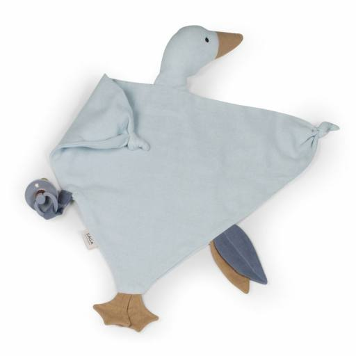 "Saga Copenhagen-Schnuffeltier ""Cuddle Cloth Bliki"" ice blue"