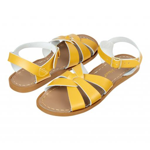 "Salt Water Sandals - Sandalen ''Salt Water Original Child/Youth/Adult"", mustard"