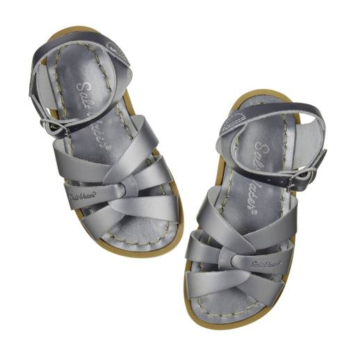 "Salt Water Sandals -Sandalen ''Salt Water Original Child/Youth/Adult"", pewter"