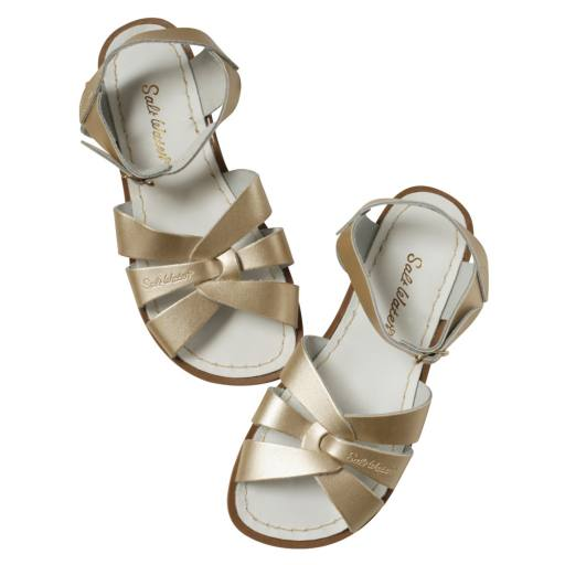 "Salt Water Sandals -Sandalen ''Salt Water Original Child/Youth"", gold"