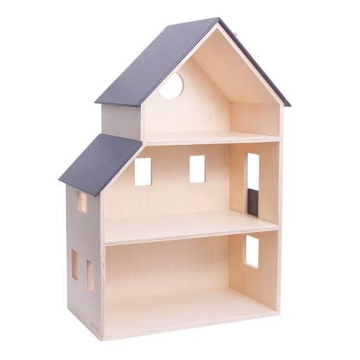 Dänisches Holzpuppenhaus