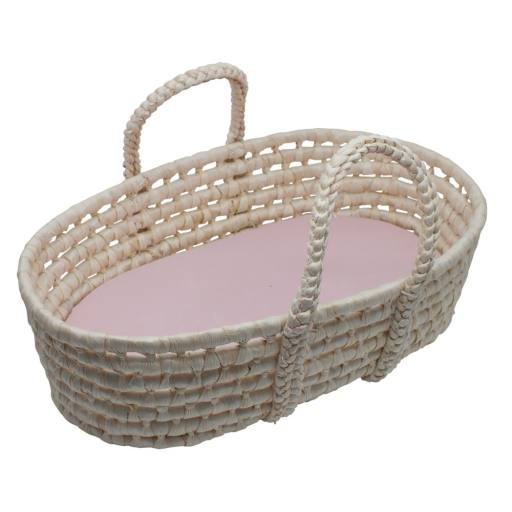 "Sebra - Puppenkorb ""Dolls carry cot"" pink"