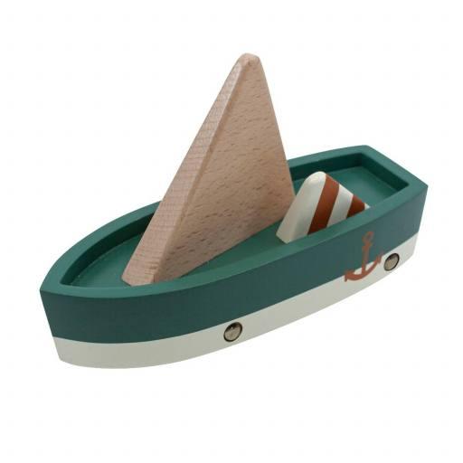 Sebra - Segelboot aus Holz