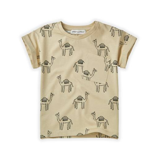 "Sproet & Sprout - T-Shirt ""Camel"", sesam"