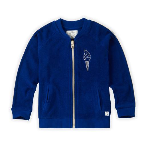 "Sproet & Sprout - Cardigan ""Jacket Icecream Bandit"", cobalt blue"