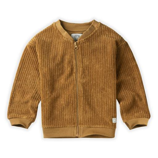 """Sproet & Sprout - Jacke """"Quilted Terry Oasis"""", desert"""