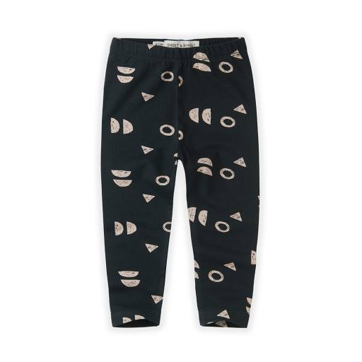 "Sproet & Sprout - Leggings ""Print Abstract"", asphalt"