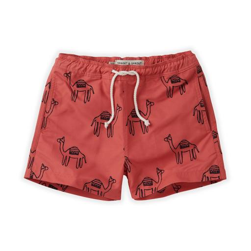 """Sproet & Sprout - Badehose """"Swimshort Camel"""", cherry red"""