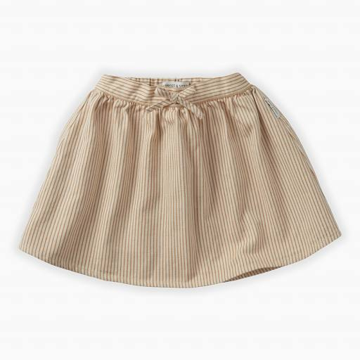 "SPROET & SPROUT - Rock ""Pinstripe Skirt"", summer white"