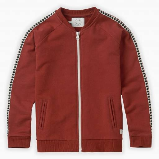 "SPROET & SPROUT -Sweatjacke ""Track Jacket"", beet"
