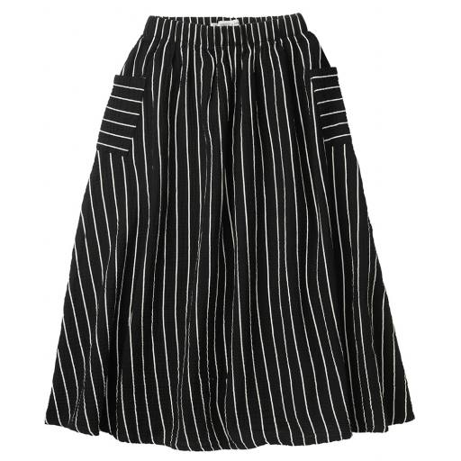 """SPROET AND SPROUD - Maxi-Rock """"Woven Long Skirt Stripe"""""""