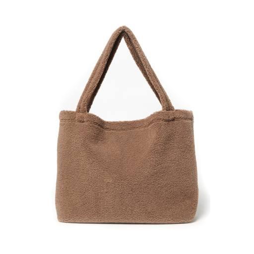 "Studio Noos -Umhängetasche ""Chunky Teddy Mom-Bag"", brown"