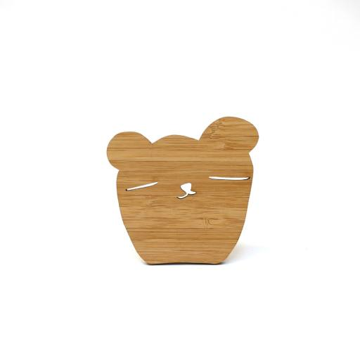 """Ted & Tone - Wandhaken """"Bamboo Bear"""""""