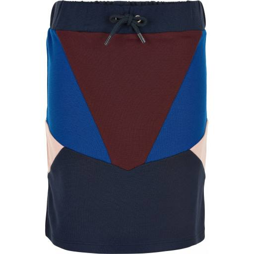 "The New - Rock ""Mara School Skirt"", navy blazer"