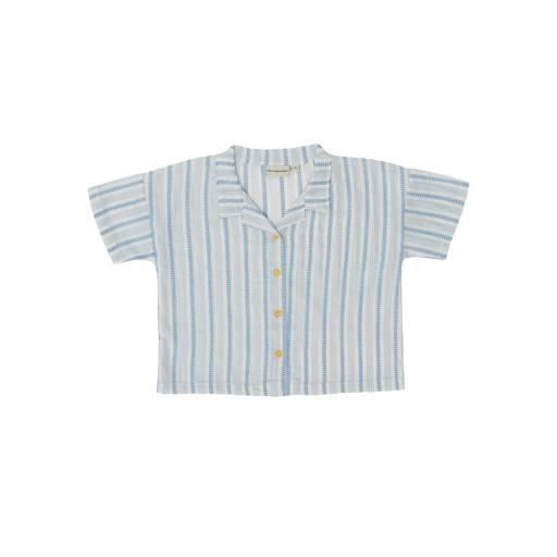 The Campamento - Shirt ''Striped Shirt'', white