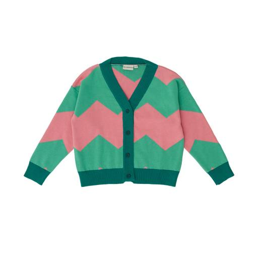 The Campamento - Strickjacke ''Knitted Jacket'', green