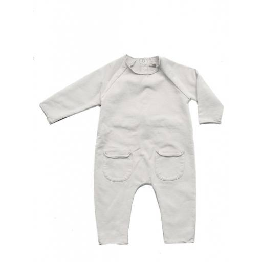 "The Simple Folk -Baby-Einteiler ""The Cozy Playsuit"", undyed"