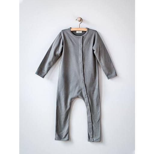 "The Simple Folk - Baby-Einteiler ""The Perfect Pajama"", lead grey"