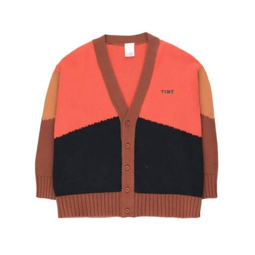 "Tinycottons-Cardigan ""Color Block Cardigan"" multicolor"