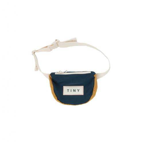 """Tinycottons - Bauchtasche """"Tiny Color Block Funny Bag"""", ink blue"""