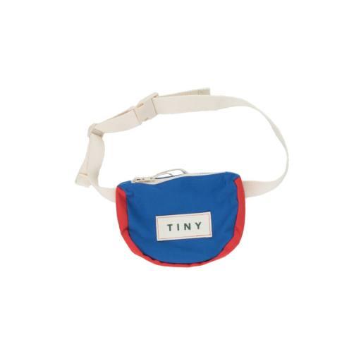 "Tinycottons - Bauchtasche ""Tiny Color Block Funny Bag"", iris blue"