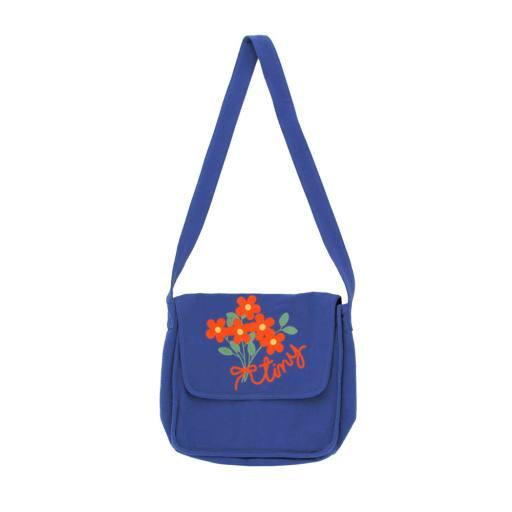 """Tinycottons - Umhängetasche """"Tiny Flower Bag"""", indigo"""