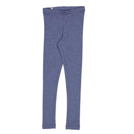 Wheat - Rib Leggings, blue melange