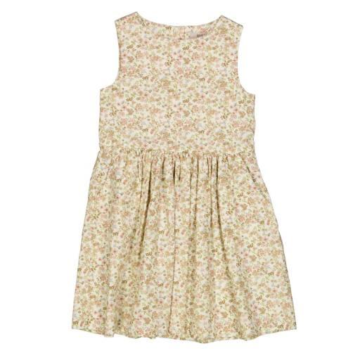 "Wheat - Kleid ""Thelma'', eggshell flowers"