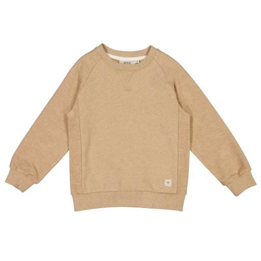 "Wheat - Sweatshirt ""Johan"", sand melange"