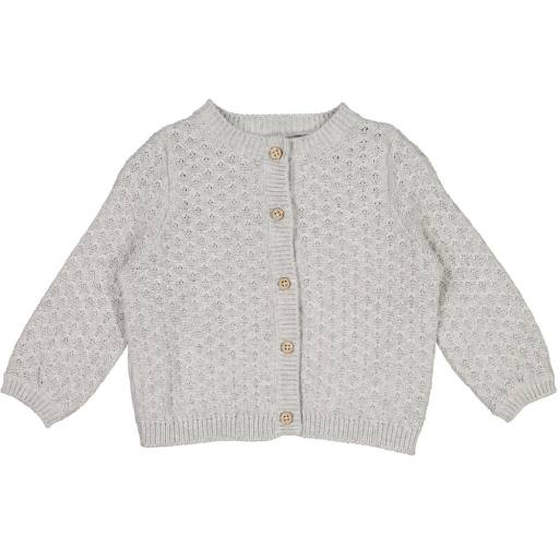 "Wheat - Cardigan ""Knit Cardigan Magnella"", grey melange"