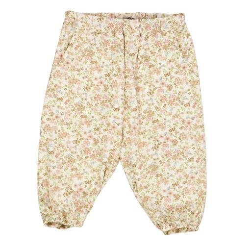 "Wheat - Trousers ""Malou"", eggshell flowers"