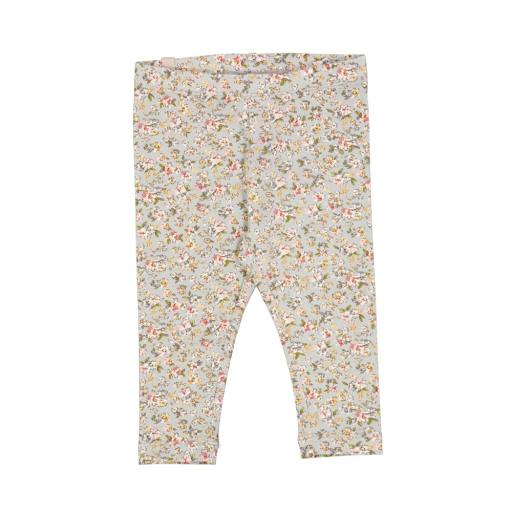Wheat - Baby-Leggings ''Jersey'', dusty dove flowers