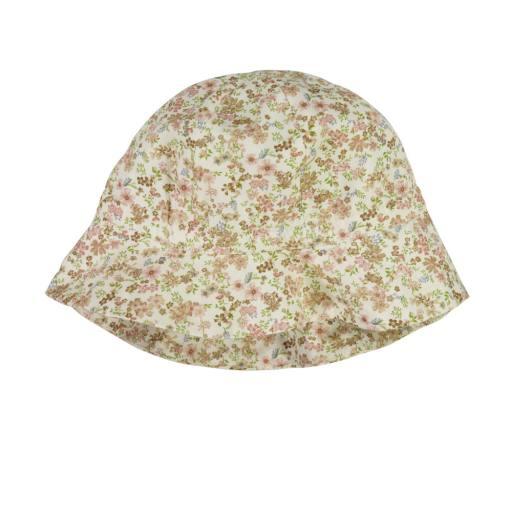 """Wheat - Sonnenhut """"Baby Girl Sun Hat"""", eggshell flowers"""