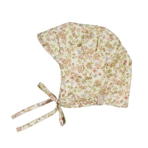 """Wheat - Sonnenhut """"Woven Bonnet Obi"""", eggshell flowers"""