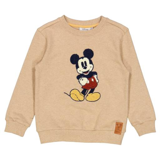 "Wheat- Sweatshirt ''Mickey Terry"", sand melange"
