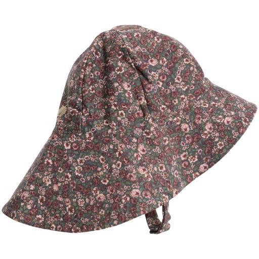 "Wheat -UV-Sonnenhut ""UV Sun Hat"", ink flowers"