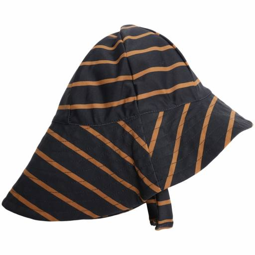 "Wheat - UV-Sonnenhut ""UV Sun Hat"", midnight blue stripe"